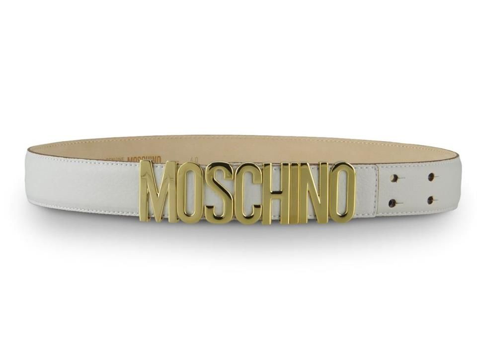 Brand new shades of the Moschino Spring/Summer 2013 collection: the best belts! #moschino #belt