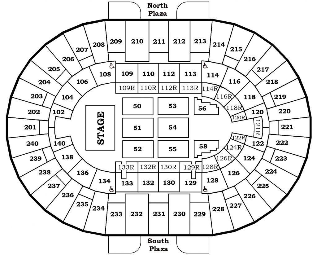The Most Awesome Along With Gorgeous North Charleston Coliseum Performing Arts Center Seating Charts North Charleston