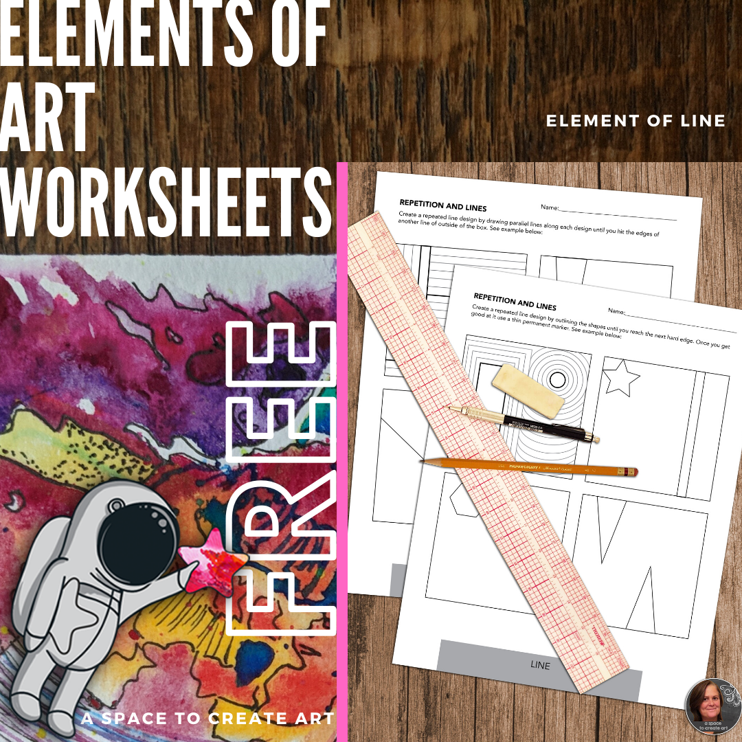 Free Element Of Line Visual Art Worksheets