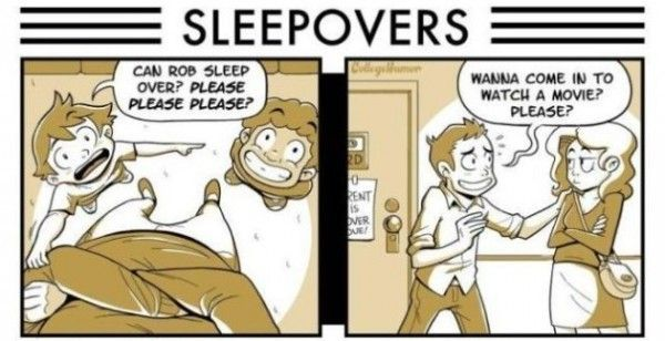 Then Vs Now Sleepovers Www Meme Lol Com Funny Pictures Stupid Jokes Best Funny Videos