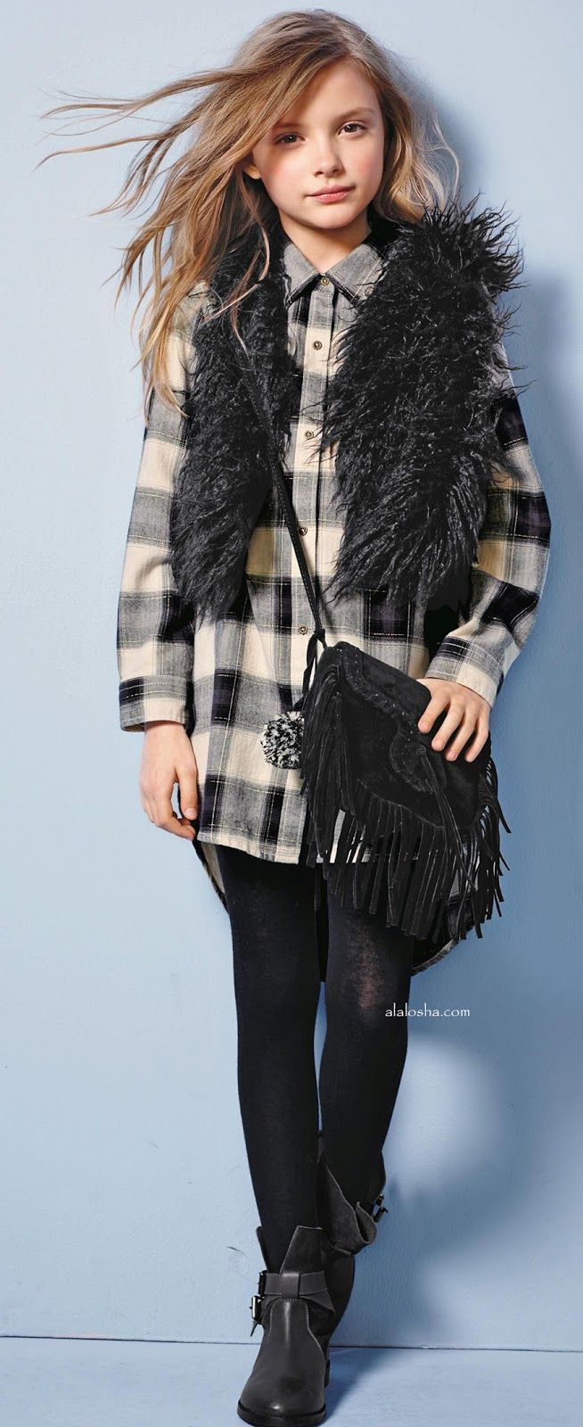 Alalosha Vogue Enfants For A Stylish And Sleek Look Get -5756