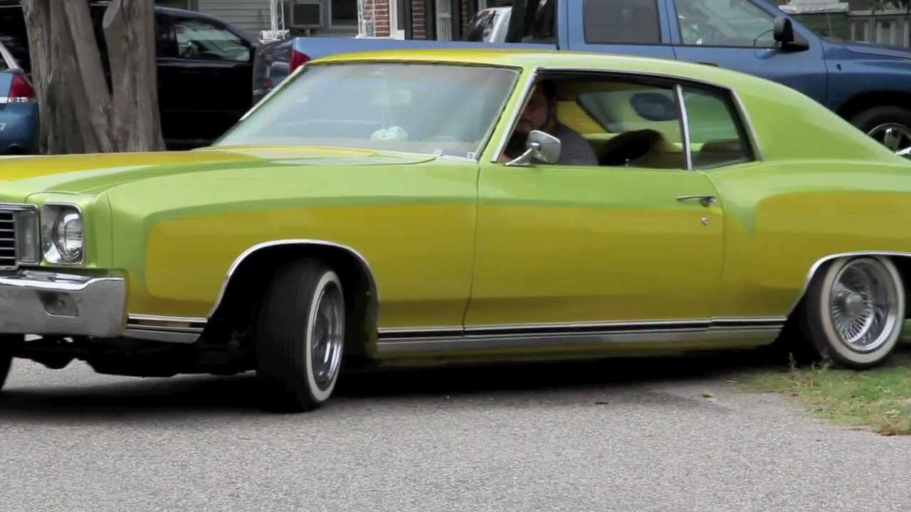 All Chevy 1980 chevy monte carlo for sale : video of 1972 Monte Carlo Show Car Lowrider yellow and olive green ...