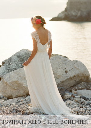 Abiti da sposa matrimonio al mare