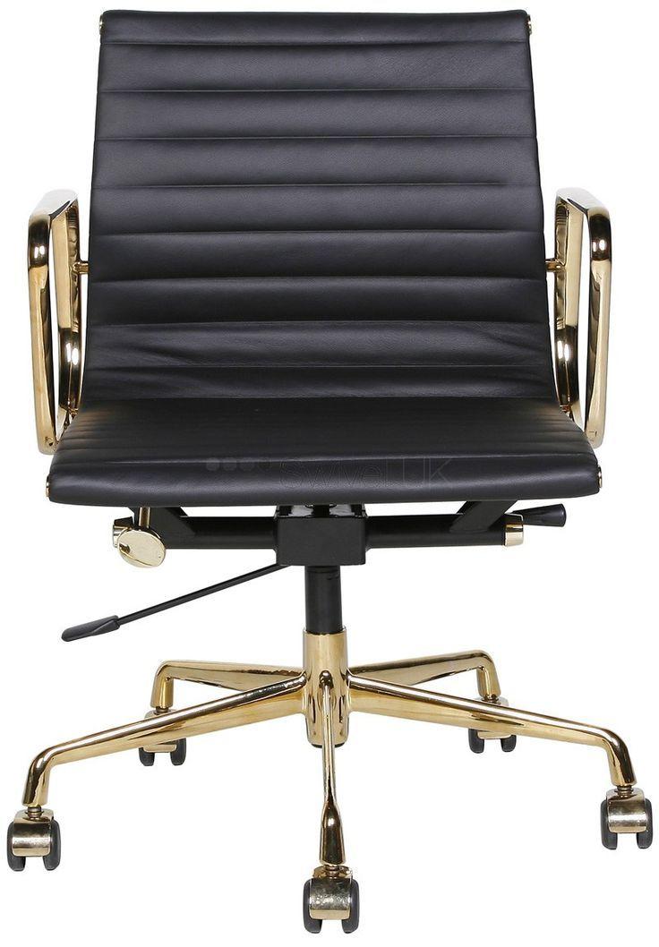 office aluminium group chair ea117 gold edition charles eames