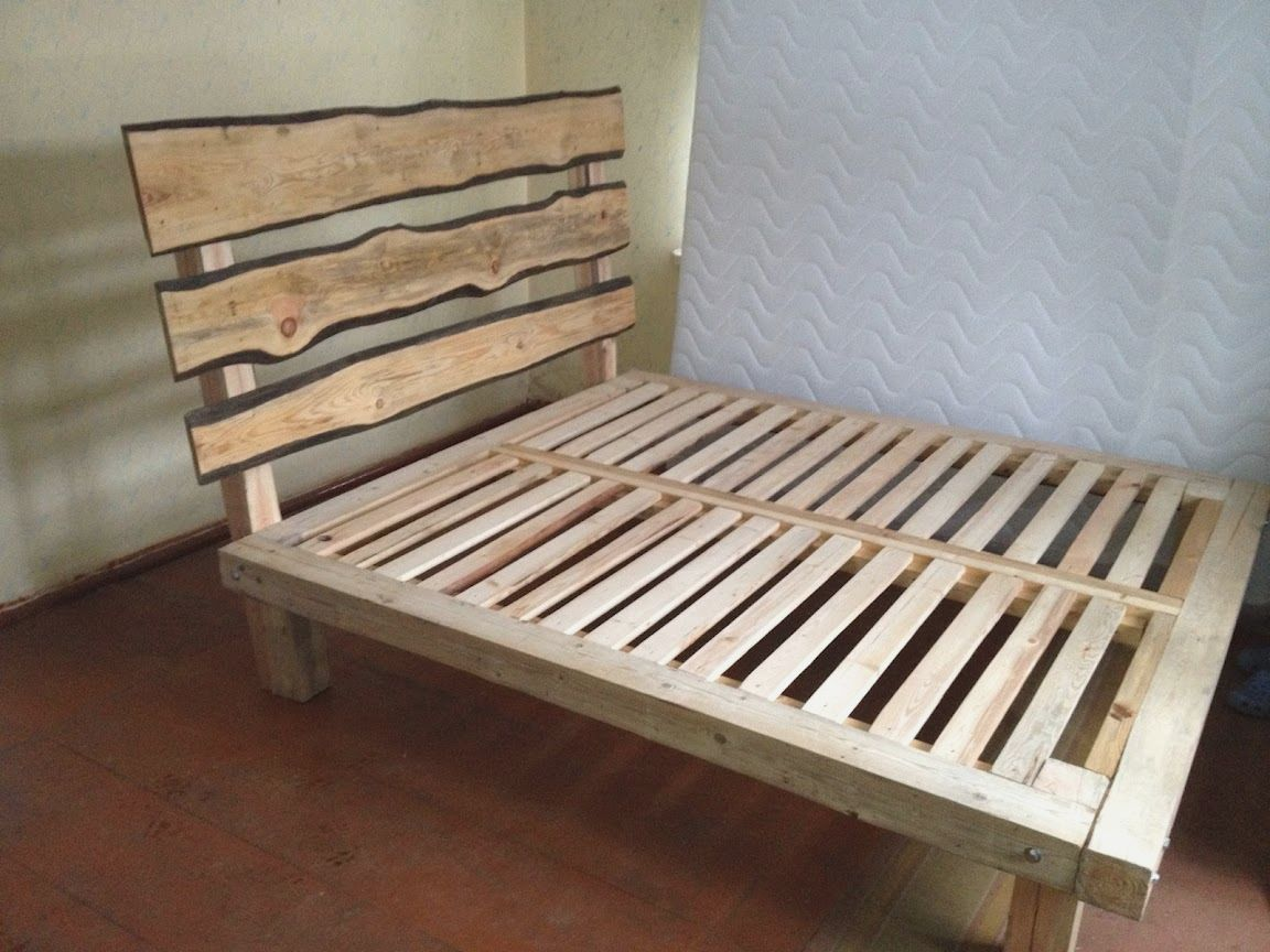 Platform Twin Bed Frame Twin Xl Pine Wood Platform Bed Frame