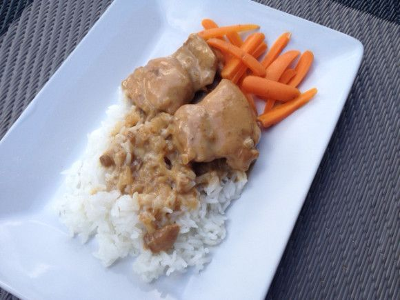 Chicken with a chinese accent recipe. An easy weeknight meal!