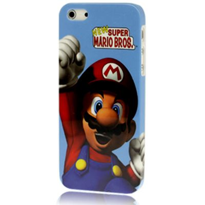 Super Mario Bros Hard Shell Snap On Protective Cover Case for iPhone 5 5S