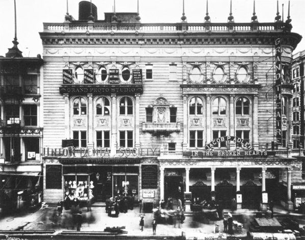 Grand Theatre Nyc C1904 Poster By Granger New York Theater Theatre City