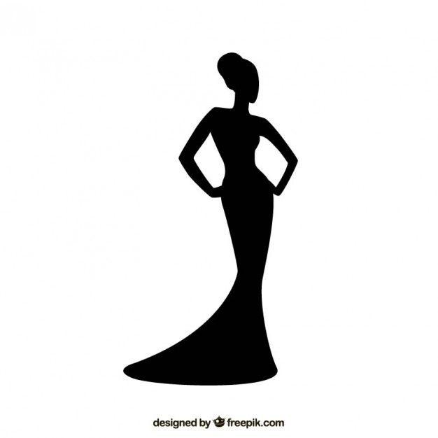 10+ Black And White Fashion Clipart