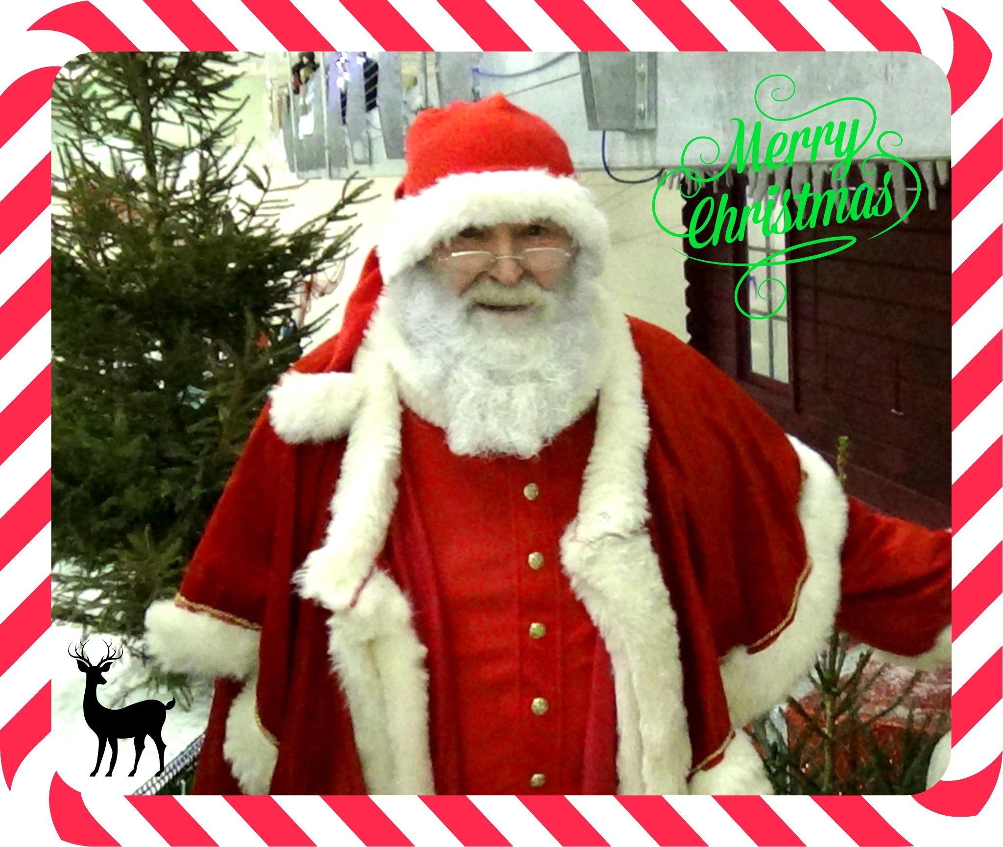 Santa!  #nofakebeards  #realsnow