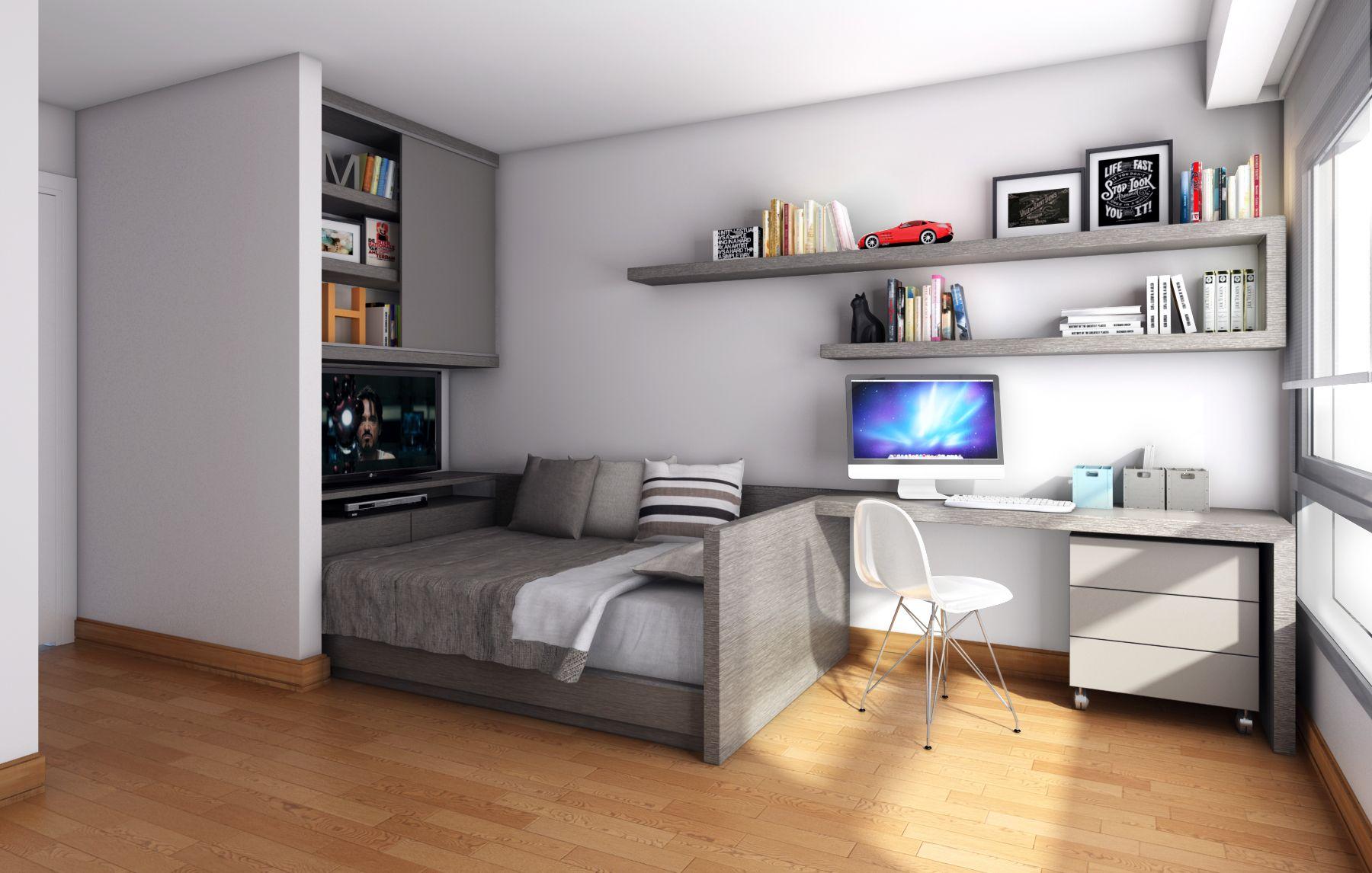 Habitaci N Para Un Adolescente Bedrooms Pinterest Salas De  # Muebles Suizos Bogota Suba