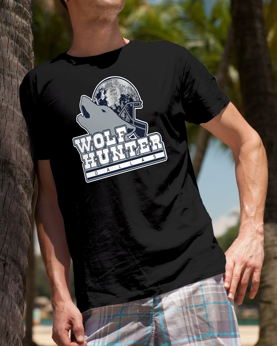 wholesale dealer 346ac 205fd Leighton Vander Esch Wolf hunter dallas shirt | Dallas ...