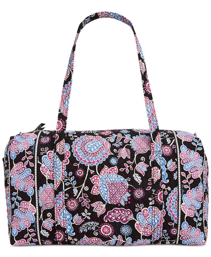 4765eae325ba Duffel Bag · Travel Bags · Sleepover Bag · Simply Vera ·  http   www.fashiontrendstoday.com category vera-bradley