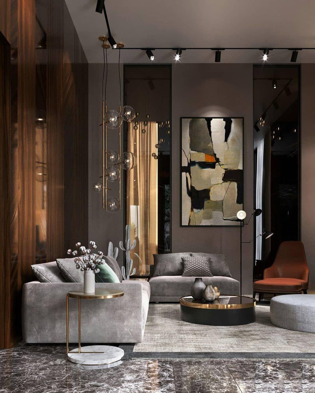 Free Room Design: Living Room Vibes 🖤 Follow For More @unitrenderspace Feel