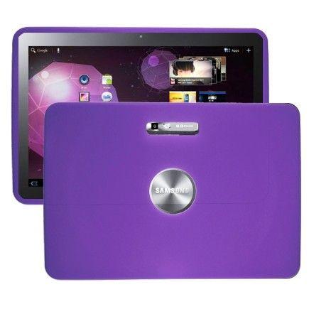 Soft Shell (Violetti) Samsung Galaxy Tab 10.1 P7100 Silikonisuojus