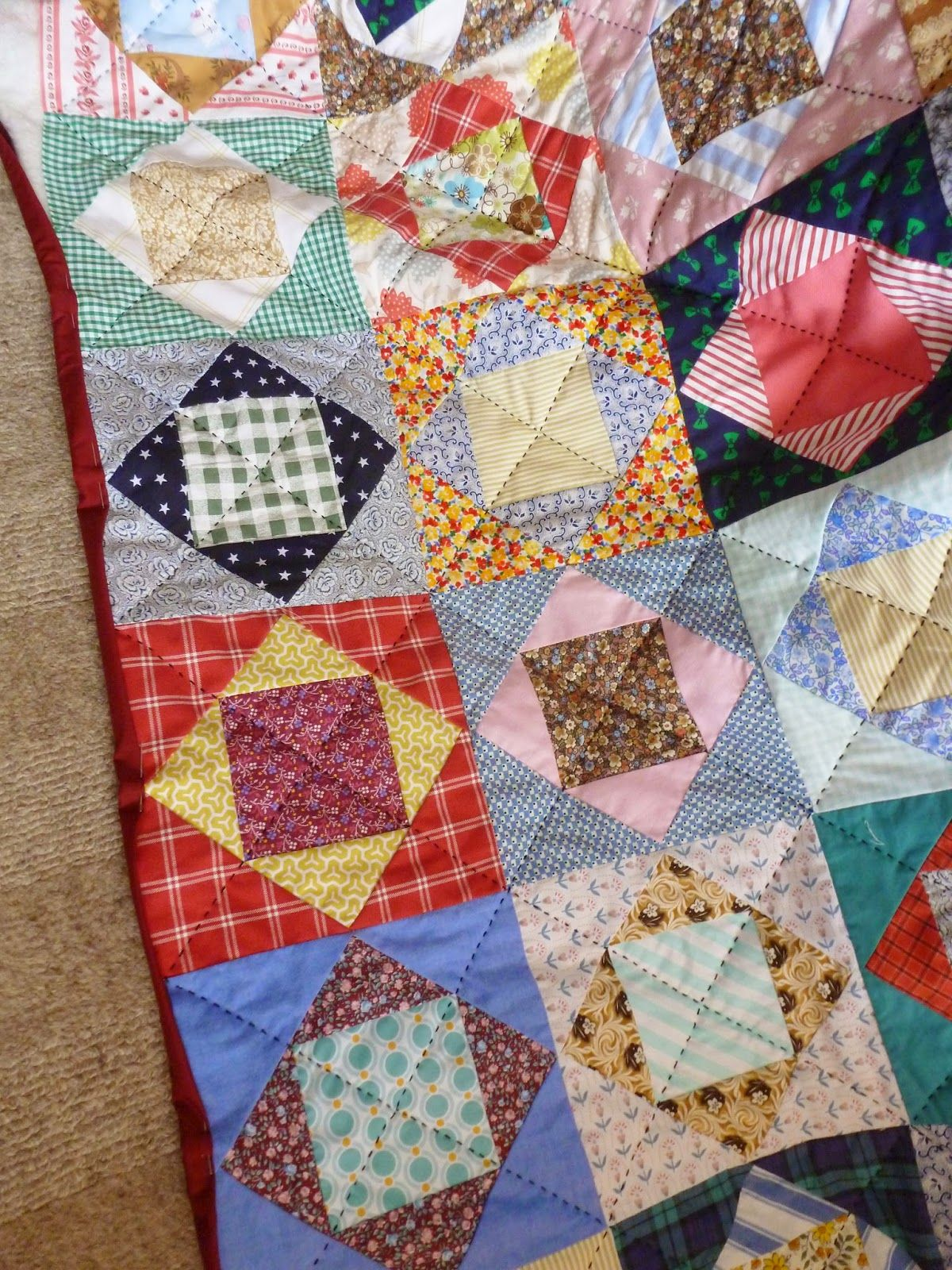 how to hand quilt a panel