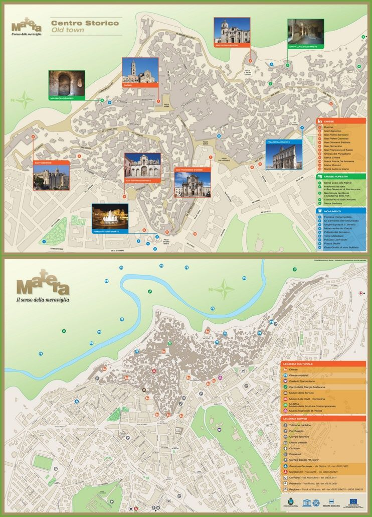 Matera tourist map Maps Pinterest Tourist map and Italy