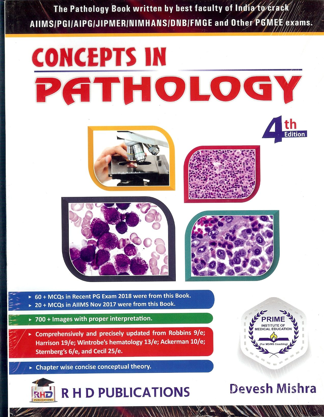 Concepts in Pathology by Devesh Mishra | Medical/ Dental PG