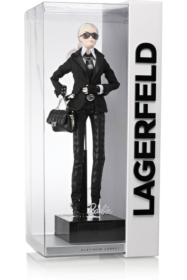 Image result for karl lagerfeld barbie