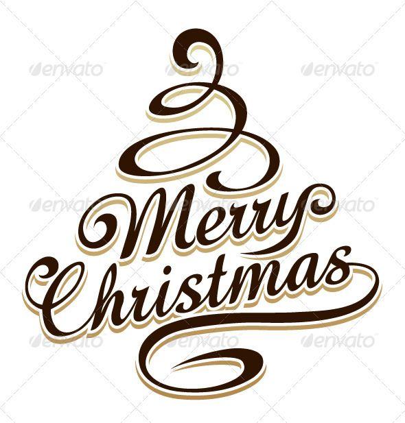 Merry Christmas Typography Merry Christmas Typography Christmas Calligraphy Merry Christmas Calligraphy