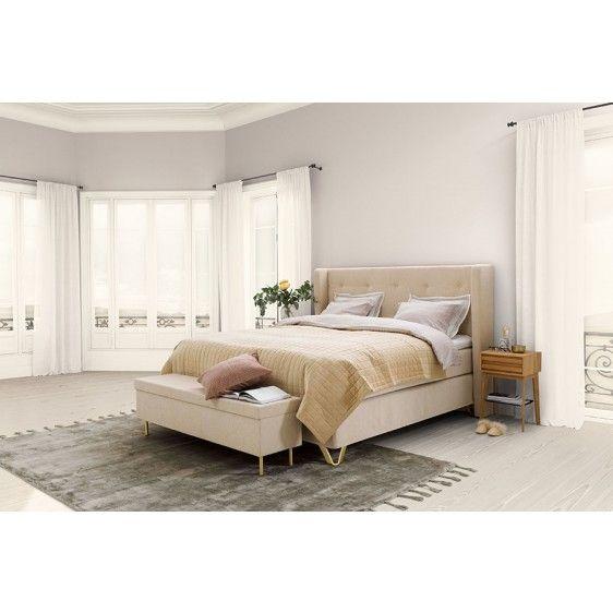 Jensen Majestic kontinental 180x200 cm - Seng/madrass My bedroom - schlafzimmer set 180x200