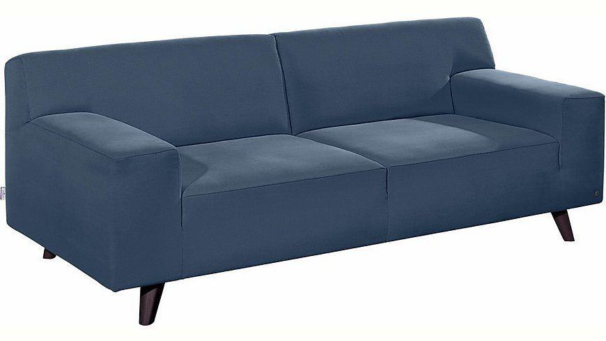 Tom Tailor 2 5 Sitzer Sofa Nordic Pure Im Retrolook Fusse