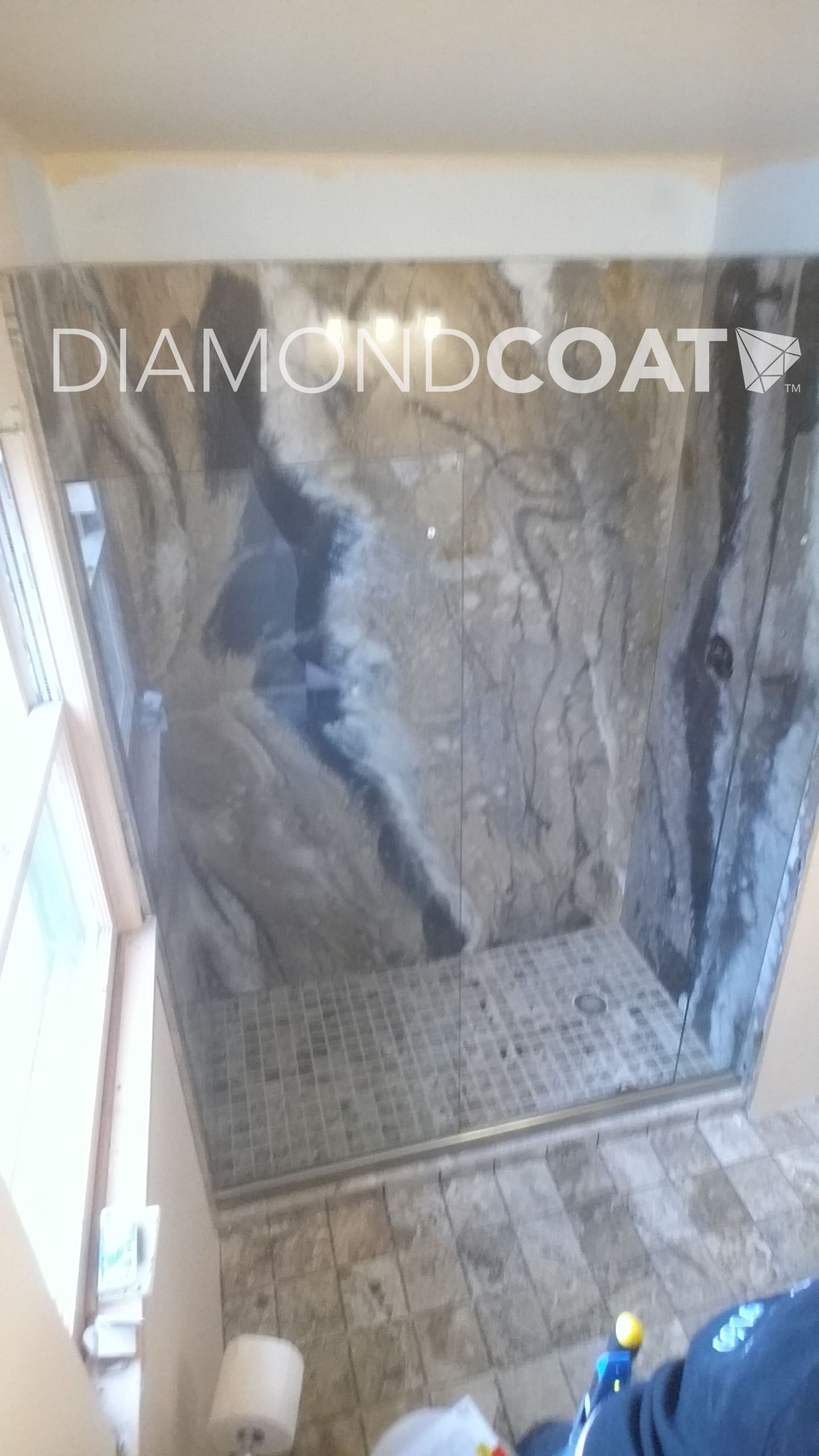 Merveilleux Gorgeous Epoxy Shower Walls, Installed By Our Diamond Coat Team!