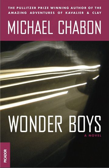 Wonderboys - Michael Chabon Fact: Both of my sons were given names from this very book.