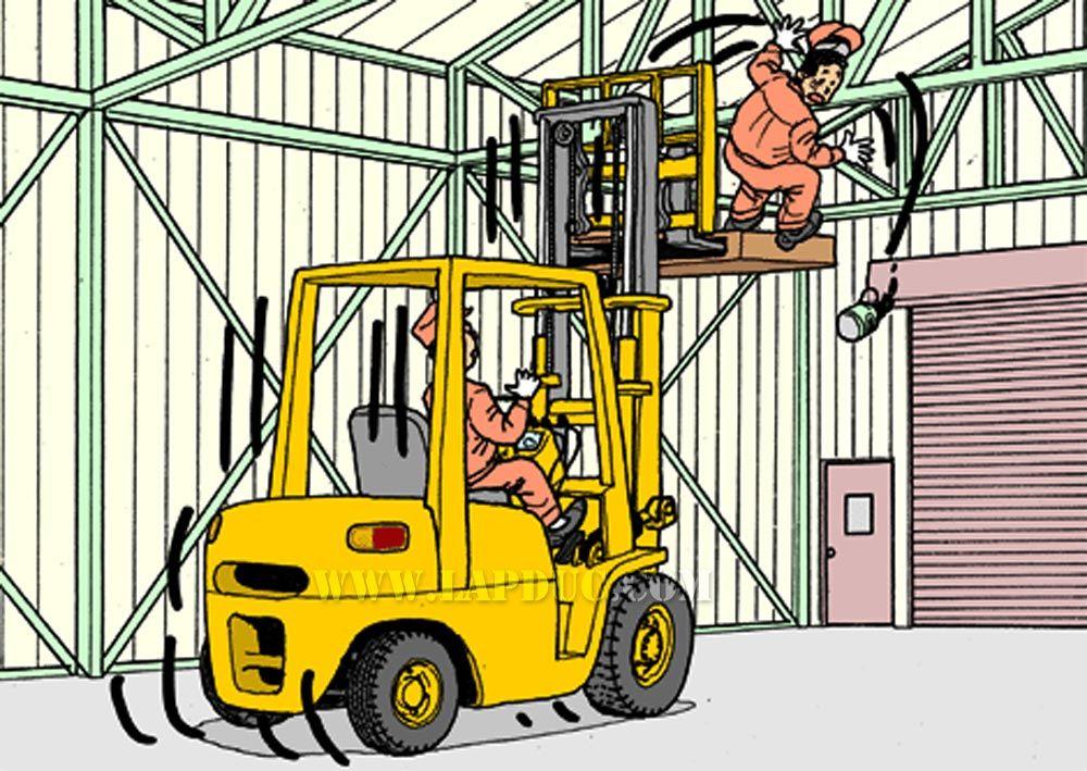 forklift safety Segurança no trabalho