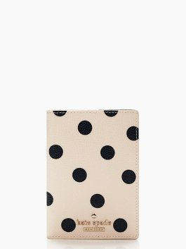 f08c0c201a50 Why not give your passport some style this year with the Cedar Street Dot  passport holder from Kate Spade NY? >> Very cute! #PinUpLive