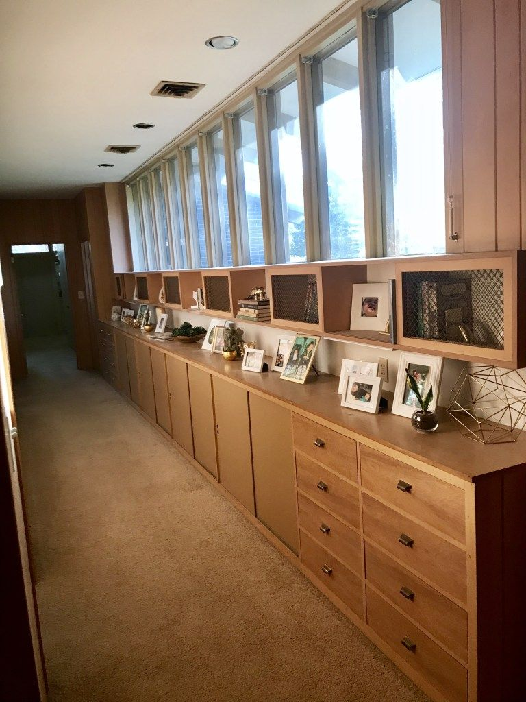 Built Ins Galore Midcenturymdern Mcm Builtins Mid Century Monday 2 Built Ins Basement Remodeling Furniture Layout