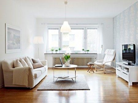 un piso nordico blanco made in ikea cargadito de ideas