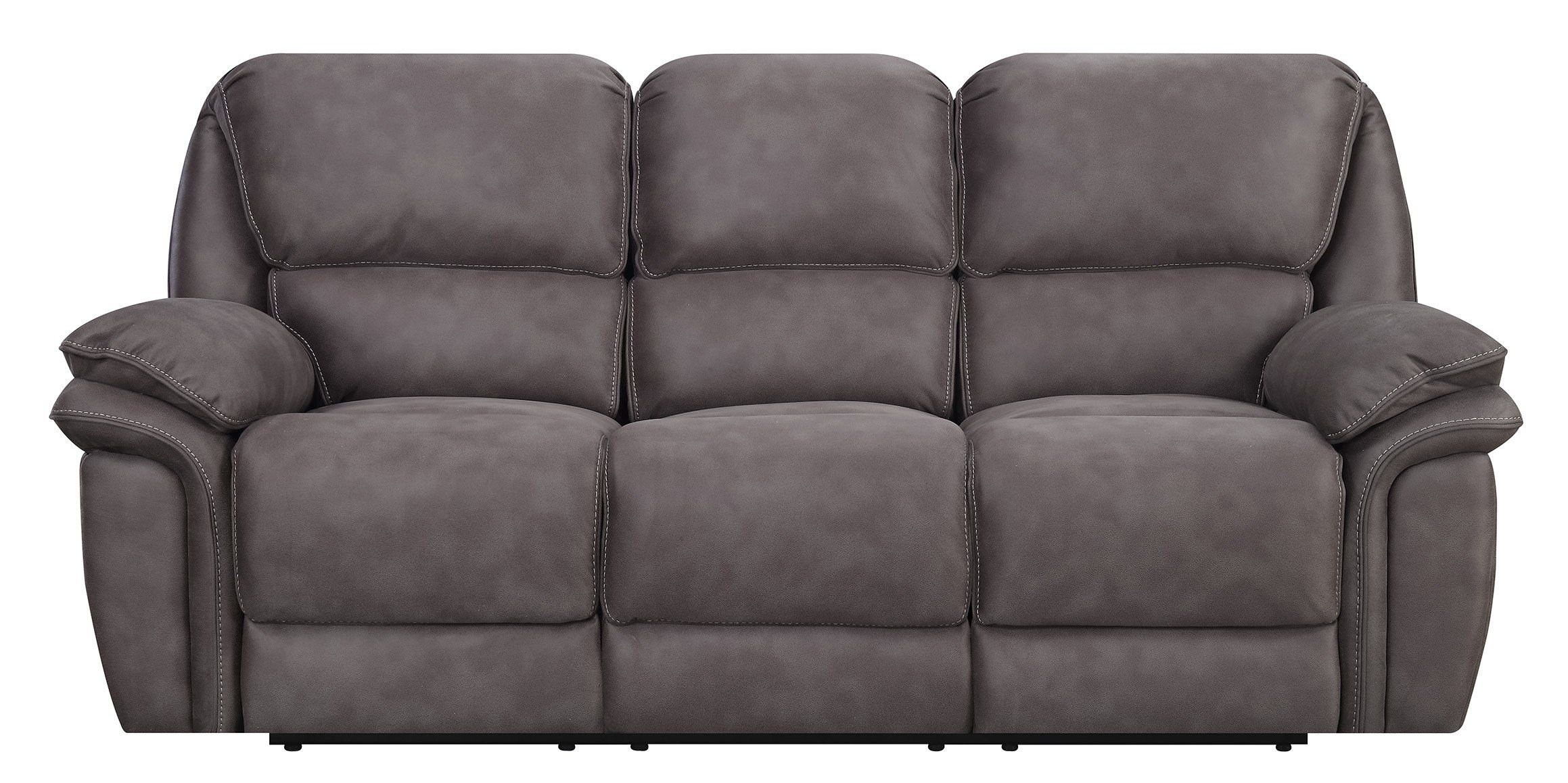 MStar Jackson 3 Seat Dual Power Reclining Sofa with USB ...