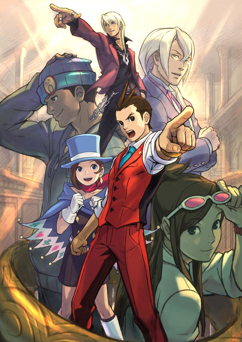 Apollo Justice Ace Attorney Characters Promotional Apollo