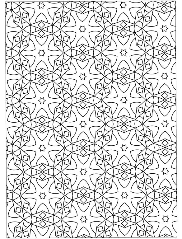 geometric patterns intricate coloring pages for adults designs about this book coloring page 1 coloring page 2