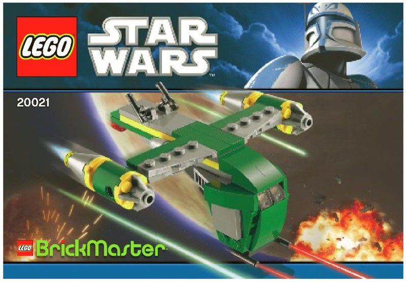 Star Wars Bounty Hunter Assault Gunship Lego 20021 Lego Mini