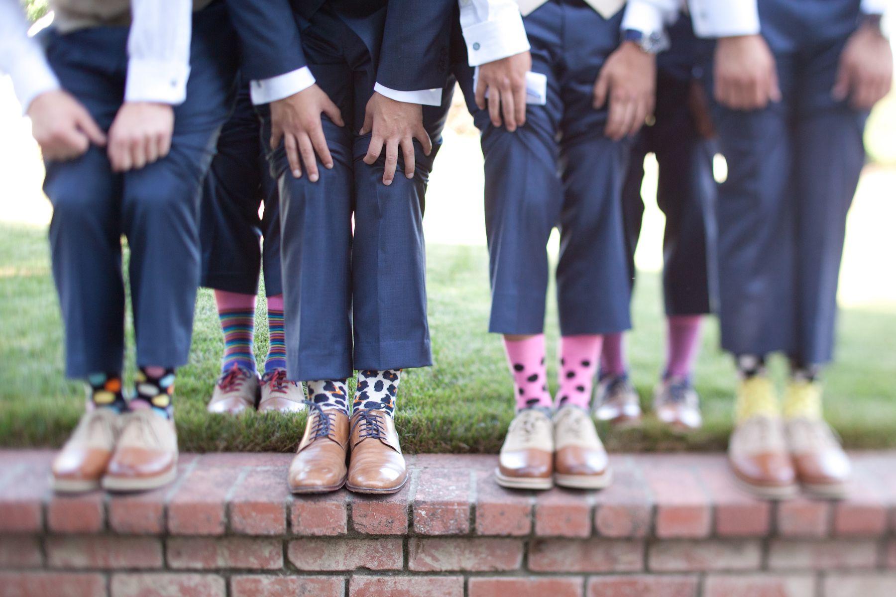 Crazy Socks For The Groomsmen