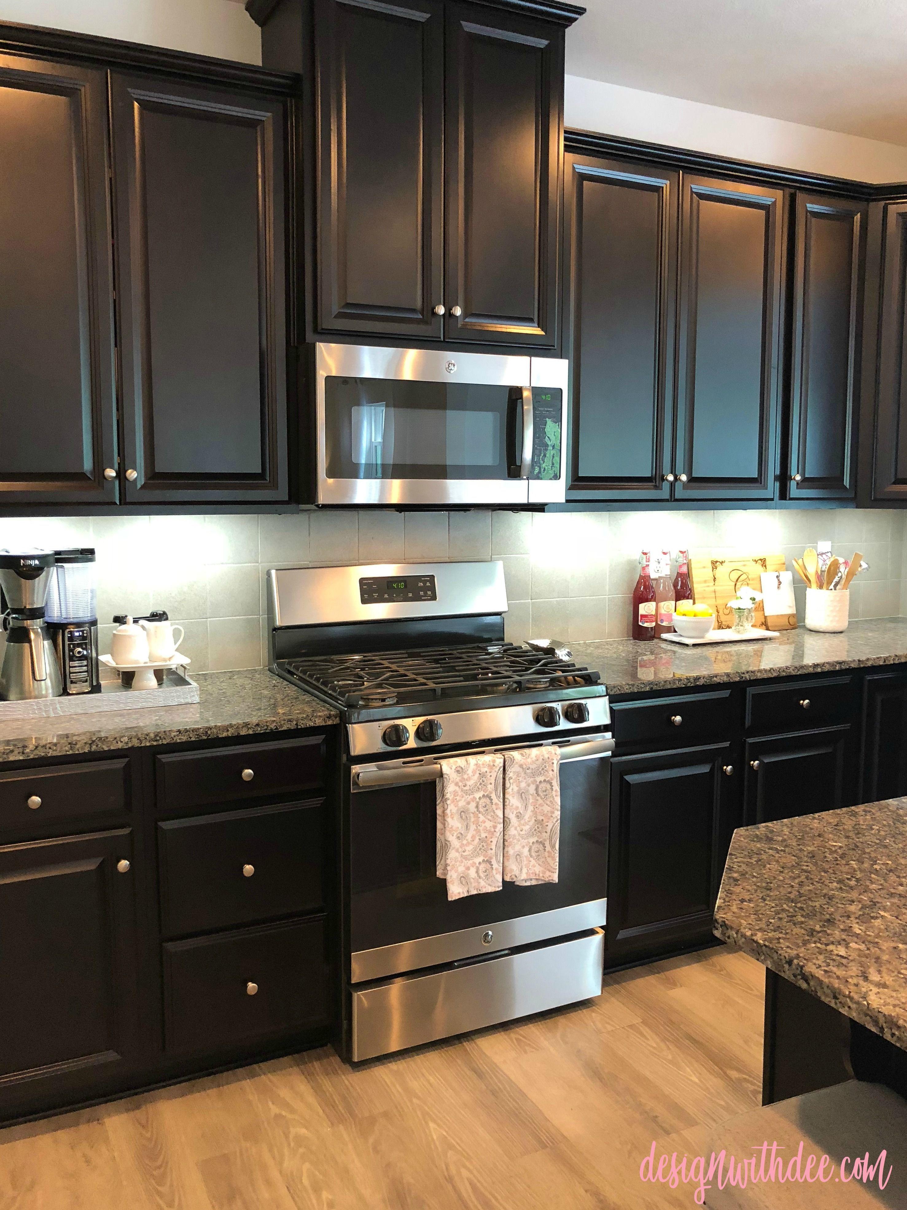 Room Tours Kitchen   Kitchen cabinets decor, Espresso kitchen ...