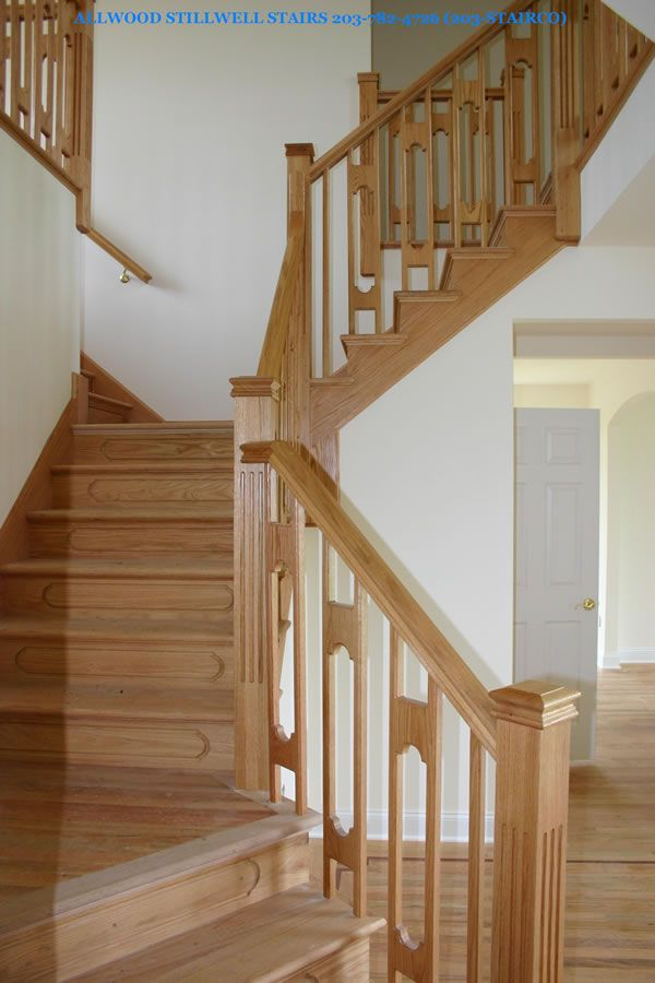 Stillwell Stairbuilders   Gallery   Custom Architectural Wood Stairs