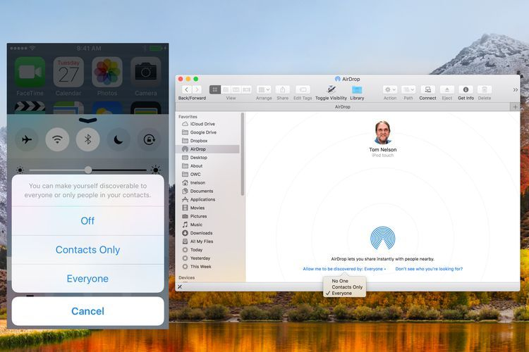 Problems with AirDrop? These tips can get AirDrop working