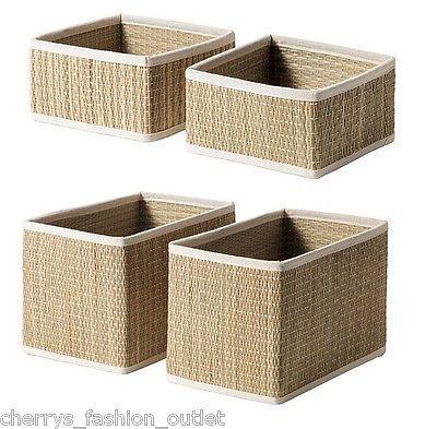 Seagr Storage Baskets Bathroom