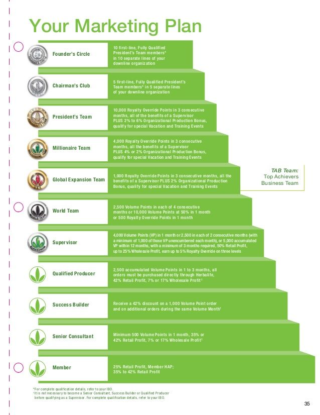 Herbalife Steps To Success: Successful Business Online