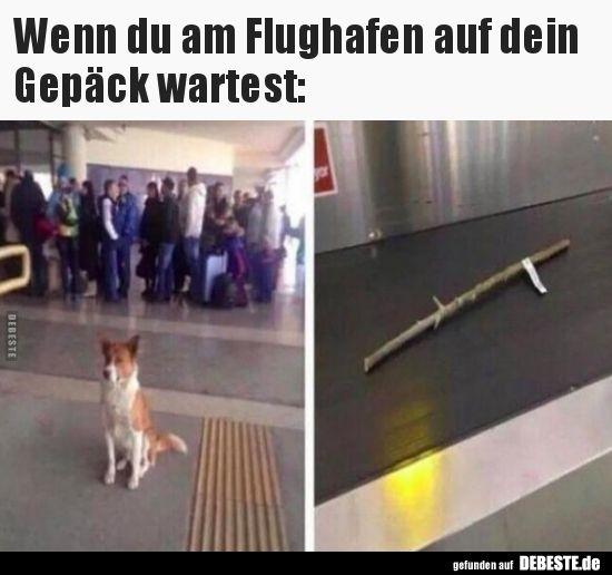 Wenn du am Flughafen auf dein Gepäck wartest.. (mit