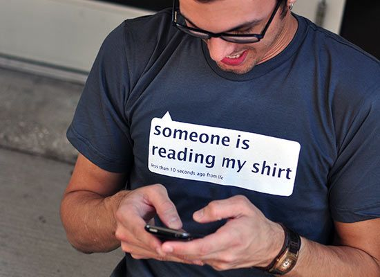 Someone Is Reading My Shirt T-Shirt | Creative, Awesome and T shirts