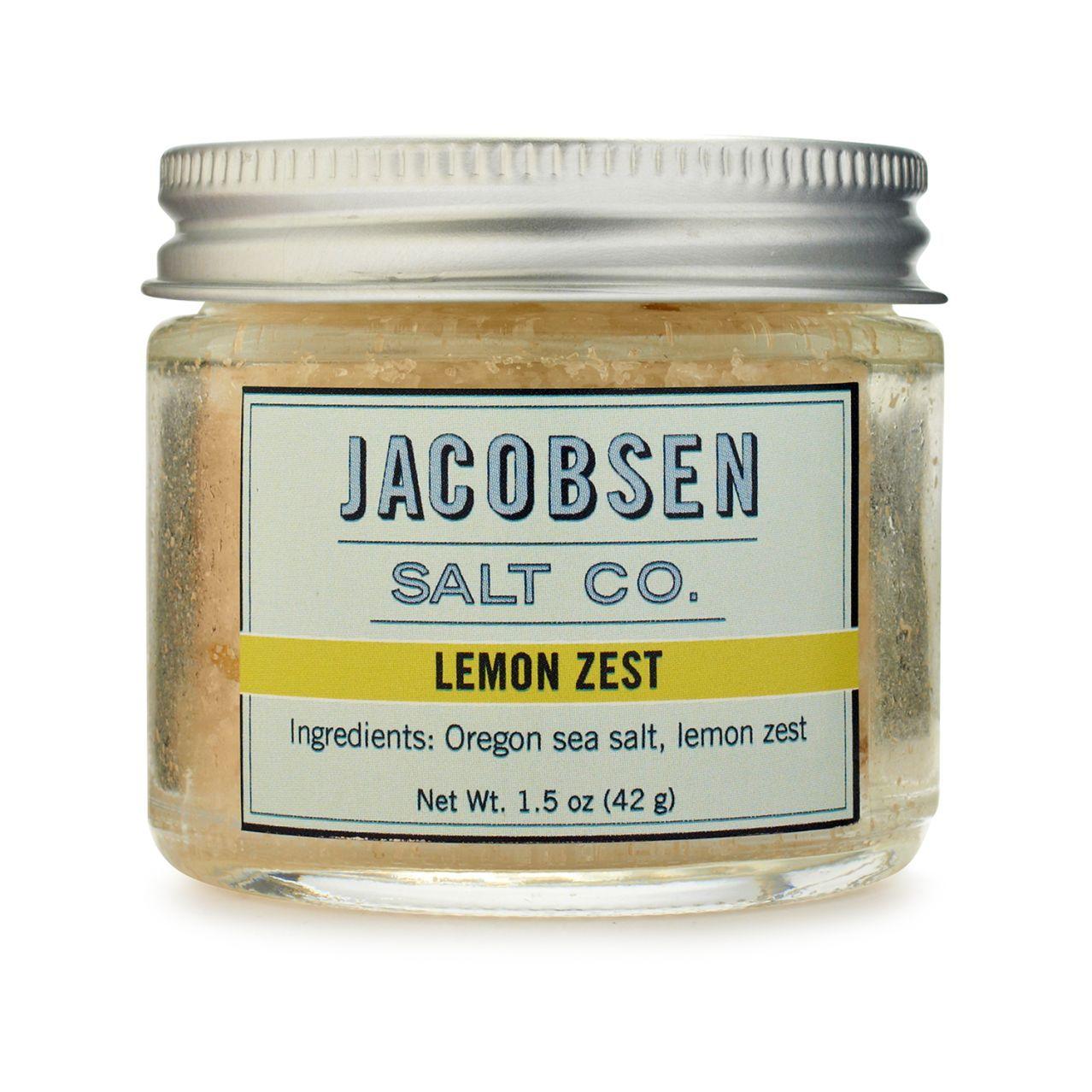 Jacobsen Salt Co. Lemon Zest Flake Sea Salt | Sur La Table