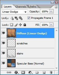 linear dodge