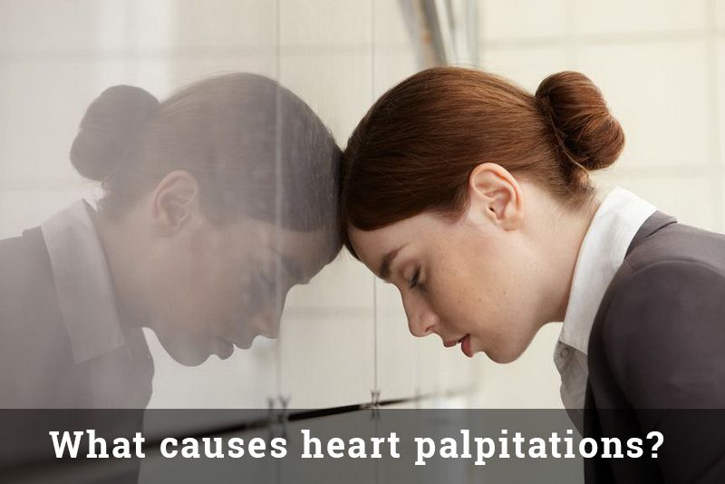 Heart palpitations can be quite worrying but in most cases, they not a cause for concern. A number of causes can lead to palpitations. http://www.heartpalpitations.org/what-causes-heart-palpitations/ #heart #palpitations