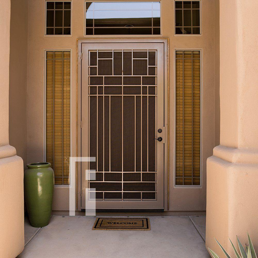 Penasco Iron Security Door First Impression Ironworks Iron Security Doors Security Door Security Screen Door