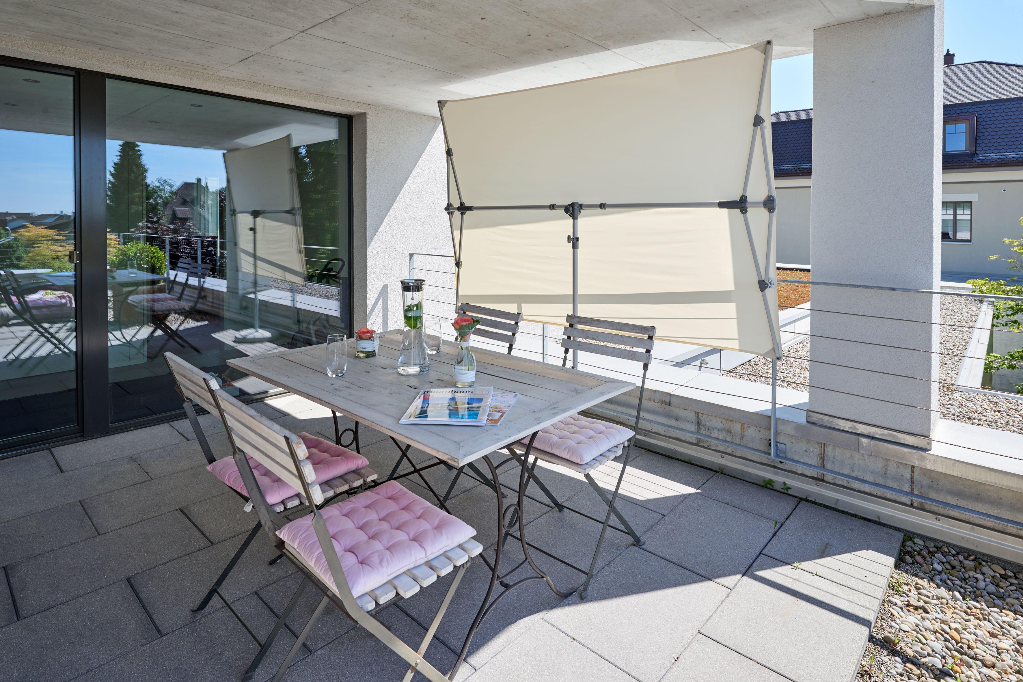 Glatz Flex Roof Sonnenschirm Und Sichtschutz Sonnenschirm Balkon