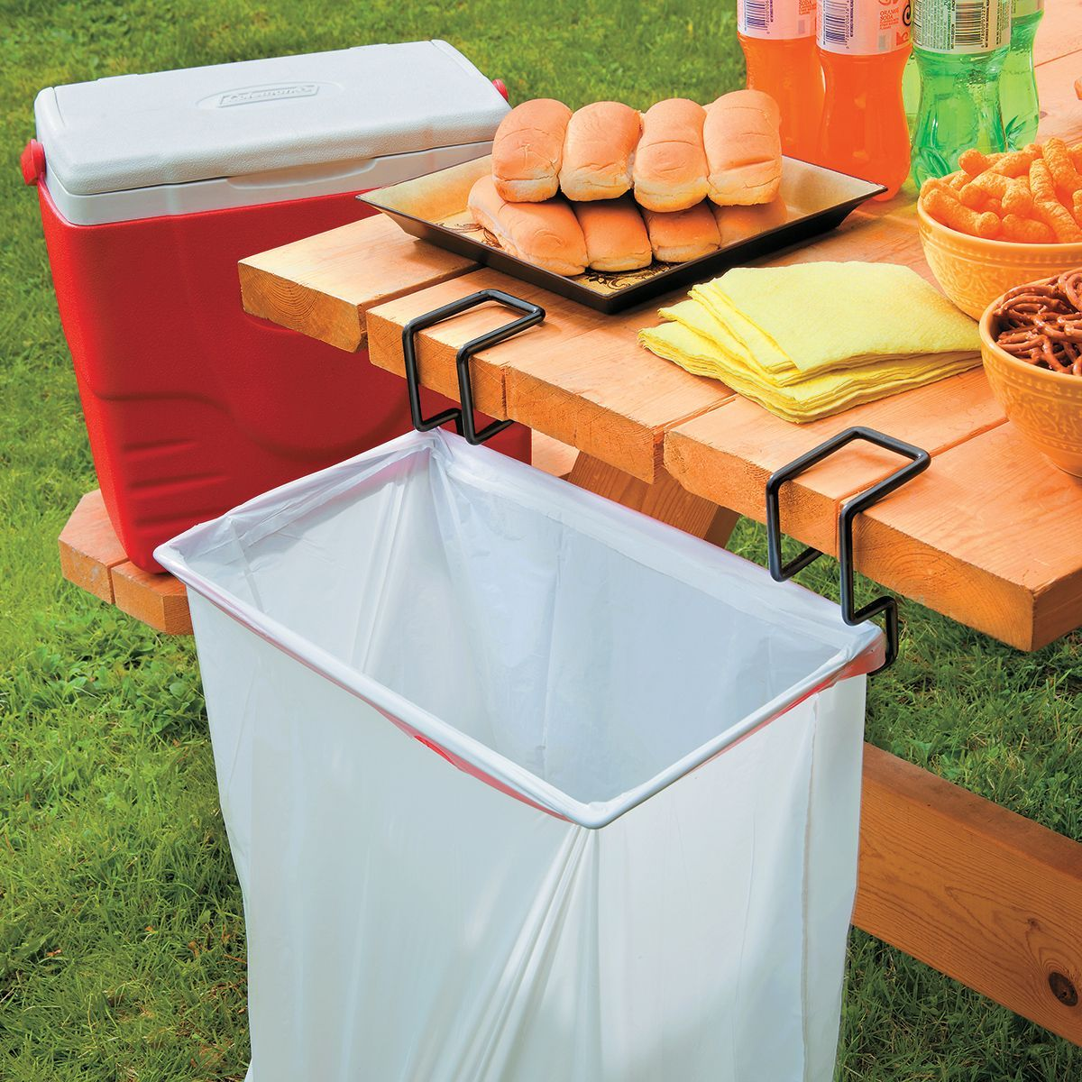 Portable Trash Bag Holder Great For Outside Events And The